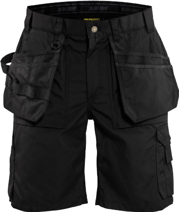 Blaklader 1526 Craftsman Shorts Lightweight (Black)